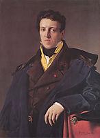Portrait of Charles-Marie-Jean-Baptiste Marcotte (Marcotte d-Argenteuil), 1810, ingres