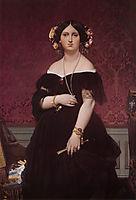 Portrait of Madame Moitessier Standing, 1851, ingres
