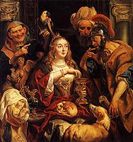 The Banquet of Cleopatra, 1653, jordaens