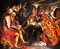 The four Latin fathers of the Church, jordaens