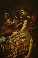Holy Women at the Sepulchre, jordaens