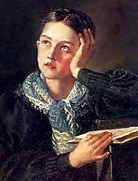 Dreamer, c.1827, kiprensky
