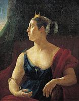 Portrait of Ekaterina Semenova, kiprensky