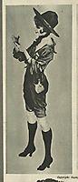 Girl Scout, New York Tribune, 1916, kirchner