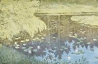 Der Ligger Tjernet I Svartbudalen, 1900, kittelsen