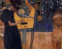Music, 1895, klimt
