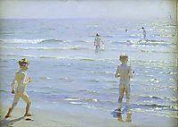Boys Bathing, 1892, kroyer