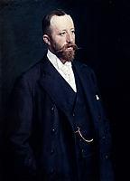 Portrait Of A Gentleman, 1898, kroyer
