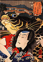 The actor, kuniyoshi