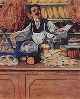 Baker, 1920, kustodiev