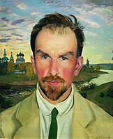 Portrait of an Art Historian and Restorer Alexander Anisimov, 1915, kustodiev