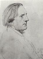 Portrait of I.V. Ershov, 1922, kustodiev