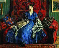 Portrait of Y.E. Kustodieva, 1920, kustodiev
