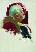 Senator P.A. Saburov, 1902, kustodiev
