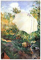 Garden in Grez, 1883, larsson