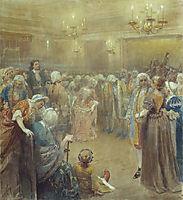Assembly of Peter I, lebedev