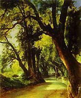 An Alley in Albano, 1837, lebedevmikhail