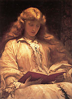 The Maid with the Yellow Hair, 1895, leighton