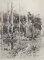 Path in the forest, 1884, levitan