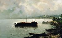 Volga, 1889, levitan