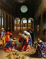 Christ-s farewell to Mary, 1521, lotto
