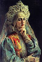 Russian Beauty, c.1900, makovsky