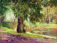 Under the Green Trees (Summer Landscape), makovsky