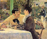At Father Lathuille, 1879, manet
