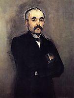 Portrait of Georges Clemenceau, manet