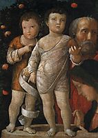 The holy family with St John, mantegna
