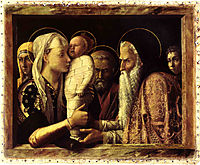 Presentation of Christ in the temple, 1466, mantegna