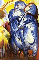 The Tower of Blue Horses, 1913, marcfrantz