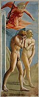 Adam and Eve banished from Paradise, c.1427, masaccio