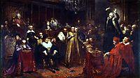 Skarga`s Sermon , 1864, matejko
