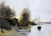 Fishermen on the Banks of the Loire, maufra