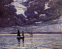 The Return of the Fishing Boats, maufra