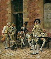 The Portrait of a Sergeant, 1874, meissonier