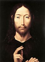 Christ Giving His Blessing, 1478, memling