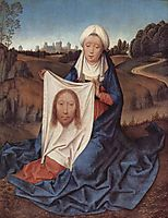 St. Veronica, 1475, memling