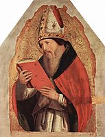 St. Augustine, c.1472, messina
