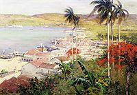 Havana Harbor, 1902, metcalf