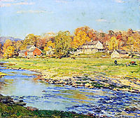 Late Afternoon in October, 1920, metcalf