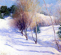 Winter in New Hampshire, 1914, metcalf