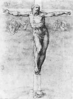 Christ on the Cross, 1541, michelangelo