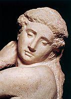 DavidApollo: detail: 2, 1530, michelangelo