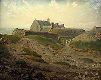 Priory at Vauville, Normandy, millet
