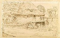 Water mill near Vichy, c.1866, millet