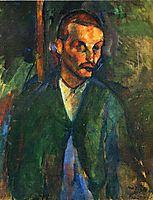 The beggar of Livorne, 1909, modigliani