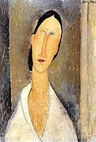 Hanka Zborowska, 1919, modigliani