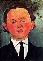 Oscar Miestchaninoff, 1917, modigliani